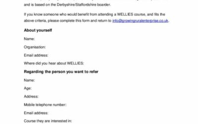 WELLIES Referral Form